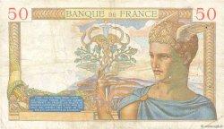 50 Francs CÉRÈS FRANCE  1935 F.17.17 TB
