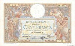 100 Francs LUC OLIVIER MERSON type modifié FRANCE  1938 F.25.33 TTB+