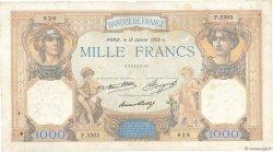 1000 Francs CÉRÈS ET MERCURE FRANCE  1933 F.37.08 pr.TB