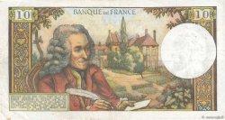10 Francs VOLTAIRE FRANCE  1972 F.62.59 TTB