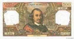 100 Francs CORNEILLE FRANCE  1973 F.65.41 pr.SUP