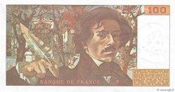 100 Francs DELACROIX modifié FRANCE  1978 F.69.01b SUP
