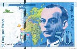 50 Francs SAINT-EXUPÉRY FRANCE  1992 F.72.01b SUP+