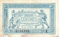 50 Centimes TRÉSORERIE AUX ARMÉES FRANCE  1917 VF.01.05 TB