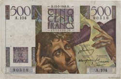 500 Francs CHATEAUBRIAND FRANCE  1948 F.34.08 F