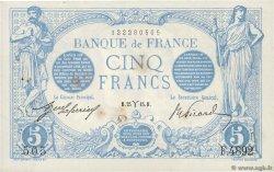 5 Francs BLEU FRANCE  1915 F.02.25 SUP