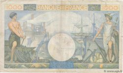 1000 Francs COMMERCE ET INDUSTRIE FRANCE  1940 F.39.01 B
