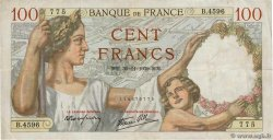 100 Francs SULLY FRANCE  1939 F.26.16 TB+
