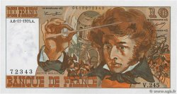 10 Francs BERLIOZ FRANCE  1975 F.63.14 SUP+