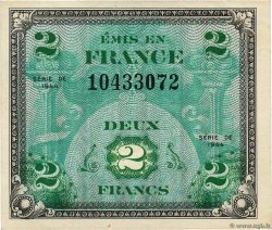 2 Francs DRAPEAU FRANCE  1944 VF.16.01 TTB