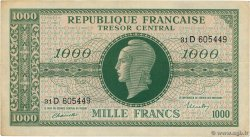 1000 Francs MARIANNE FRANCE  1945 VF.13.01 TTB