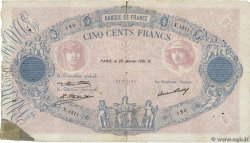 500 Francs BLEU ET ROSE FRANCE  1931 F.30.34 B