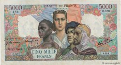 5000 Francs EMPIRE FRANÇAIS FRANCE  1945 F.47.35 pr.TTB