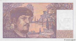 20 Francs DEBUSSY  FRANCE  1987 F.66.08 SUP+