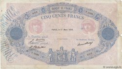 500 Francs BLEU ET ROSE FRANCE  1928 F.30.31 B