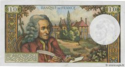 10 Francs VOLTAIRE FRANCE  1973 F.62.61 pr.SUP