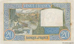 20 Francs TRAVAIL ET SCIENCE FRANCE  1940 F.12.03 TB+