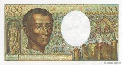 200 Francs Montesquieu FRANCE  1981 F.70.01 NEUF