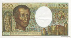 200 Francs Montesquieu FRANCE  1981 F.70.01 SUP