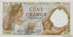 100 Francs SULLY  FRANCE  1941 F.26.44 SUP+