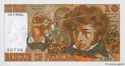 10 Francs BERLIOZ  FRANCE  1976 F.63.16-282