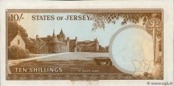10 Shillings  JERSEY  1963 P.07a SUP+