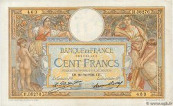 100 Francs LUC OLIVIER MERSON grands cartouches  FRANCE  1932 F.24.11 TTB+