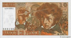 10 Francs BERLIOZ  FRANCE  1976 F.63.20