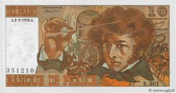 10 Francs BERLIOZ  FRANCE  1977 F.63.22
