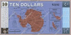 10 Dollars ANTARCTICA  2001 P.- NEUF