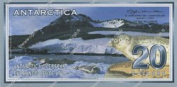 20 Dollars ANTARCTICA  2001 P.- NEUF