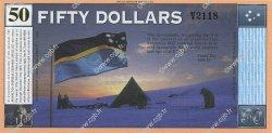 50 Dollars ANTARCTICA  2001 P.- NEUF