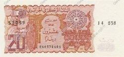 20 Dinars ALGÉRIE  1983 P.133a NEUF