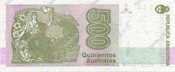 500 Australes ARGENTINE  1990 P.328b NEUF