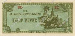 1/2 Rupee BIRMANIE  1942 P.13b NEUF
