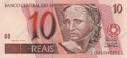 10 Reais BRÉSIL  2003 P.245Ah NEUF