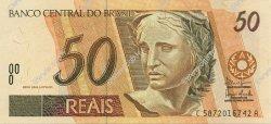 50 Reais BRÉSIL  2003 P.246l NEUF