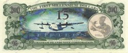15 Dollars ILES CHATHAM  2001 P.-- NEUF