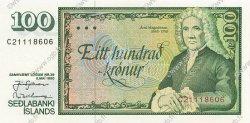100 Krónur ISLANDE  1994 P.54 NEUF
