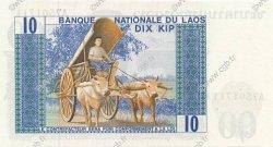 10 Kip LAOS  1974 P.15a NEUF