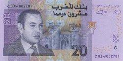 20 Dirhams MAROC  2005 P.68 NEUF