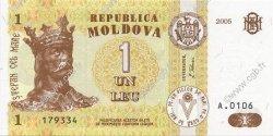 1 Leu MOLDAVIE  2005 P.08f NEUF