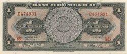 1 Peso MEXIQUE  1967 P.059j NEUF