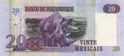 20 Meticais MOZAMBIQUE  2006 P.143a NEUF