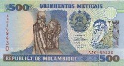 500 Meticais MOZAMBIQUE  1991 P.134 NEUF