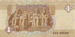 1 Pound ÉGYPTE  1992 P.050c NEUF