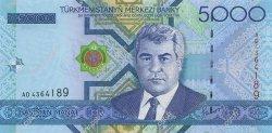 5000 Manat TURKMÉNISTAN  2005 P.21 NEUF