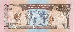 20 Shillings / 20 Shilin SOMALILAND  1994 P.03a NEUF
