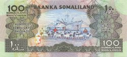 100 Schillings SOMALILAND  1994 P.05a NEUF