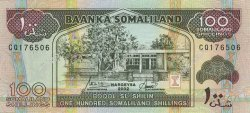 100 Schillings SOMALILAND  2002 P.05d(var) NEUF